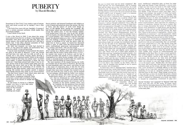 Article Preview: PUBERTY, DECEMBER 1975 1975 | Esquire