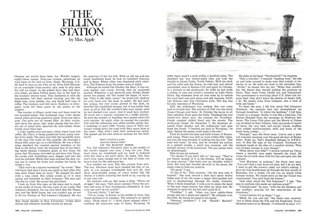 Article Preview: The Filling Station, December 1975 | Esquire