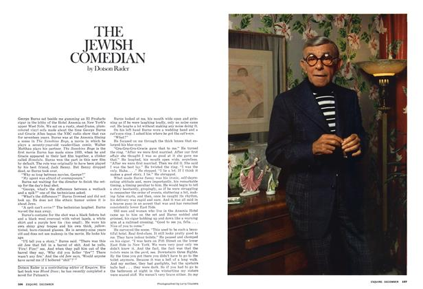 Article Preview: THE JEWISH COMEDIAN, DECEMBER 1975 1975 | Esquire