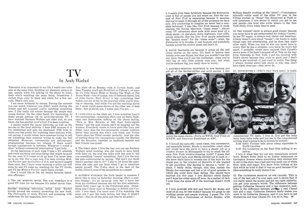 Article Preview: TV, DECEMBER 1975 1975 | Esquire