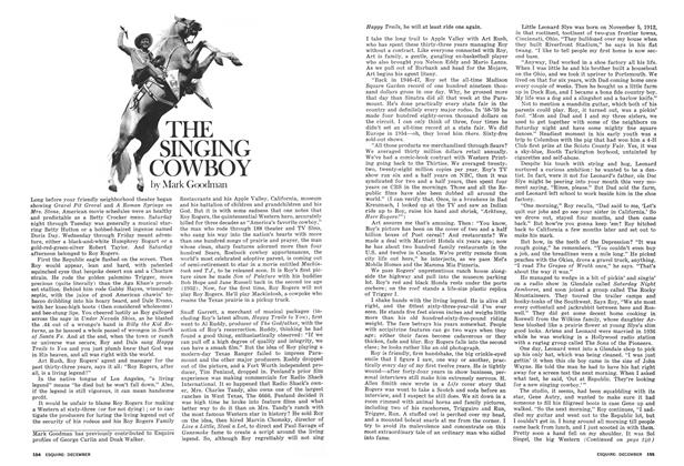 Article Preview: The Singing Cowboy, DECEMBER 1975 1975 | Esquire