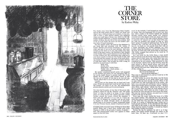 Article Preview: THE CORNER STORE, DECEMBER 1975 1975 | Esquire