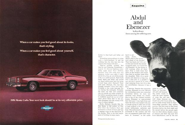 Article Preview: Abdul and Ebenezer, March 1976 | Esquire