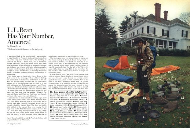 Article Preview: L.L. Bean Has Your Number, America!, March 1976 | Esquire