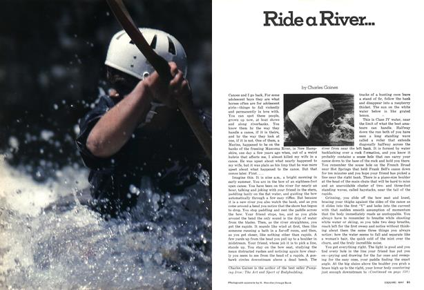 Article Preview: Ride a River..., MAY 1976 1976 | Esquire