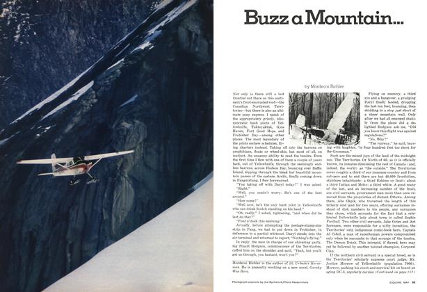 Buzz a Mountain...