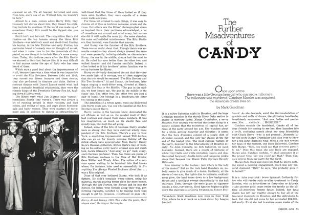 The Further Misadventures of Candy