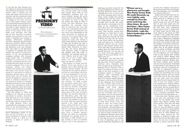 Article Preview: President Video, JUNE 1976 1976 | Esquire