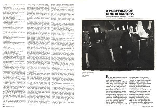 Article Preview: A Portfolio of Nine Directors, JUNE 1976 1976 | Esquire
