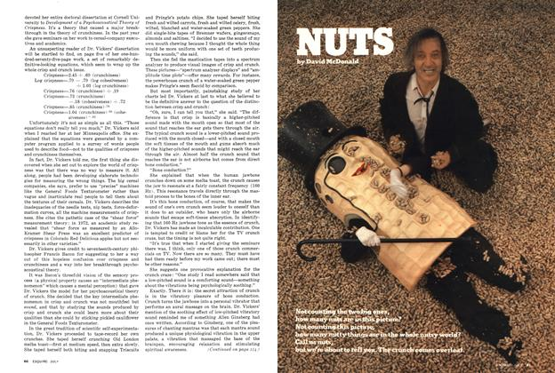 Article Preview: Nuts, July 1976 | Esquire