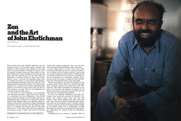 Article Preview: Zen and the Art of John Ehrlichman, July 1976 | Esquire