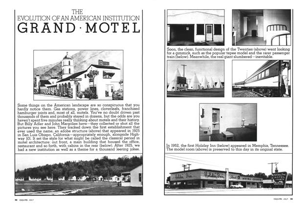Article Preview: The Evolution of An American Institution Grand Motel, JULY 1976 1976 | Esquire