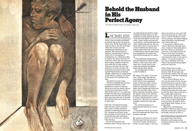 Article Preview: Behold the Husband in His Perfect Agony, July 1976 | Esquire