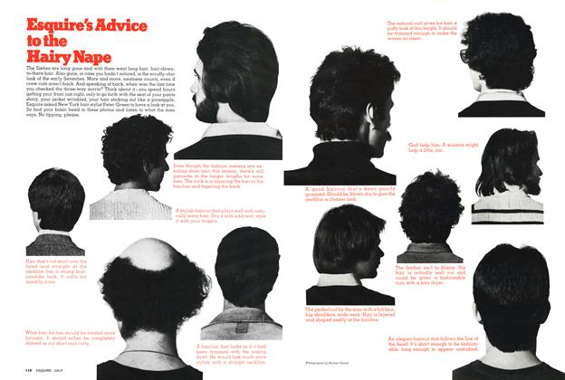 Article Preview: Esquire's Advice to the Hairy Nape, JULY 1976 1976 | Esquire