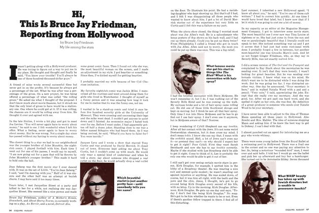 Article Preview: Hi, This Is Bruce Jay Friedman, Reporting from Hollywood, August 1976 | Esquire