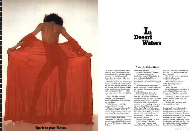 Article Preview: In Desert Waters, AUGUST 1976 1976 | Esquire