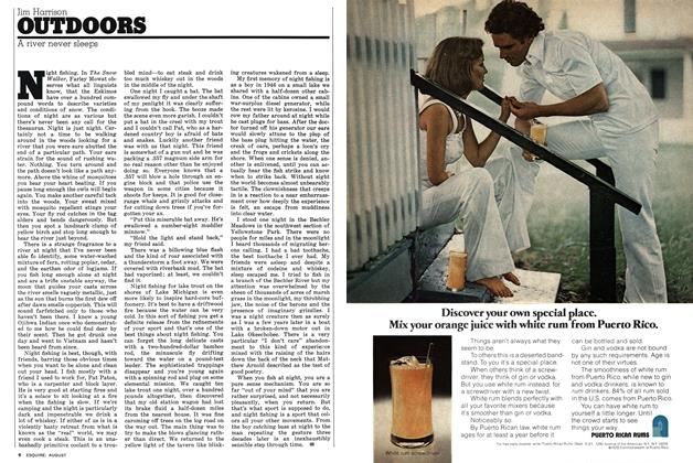 Article Preview: A river never sleeps, AUGUST 1976 1976 | Esquire