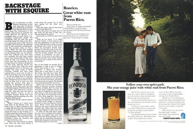 Article Preview: , September 1976 | Esquire