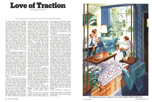 Article Preview: Love of Traction, September 1976 | Esquire