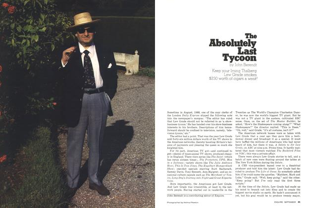 Article Preview: The Absolutely Last Tycoon, September 1976 | Esquire