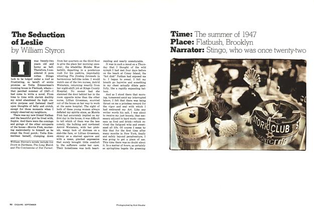 Article Preview: The Seduction of Leslie, September 1976 | Esquire