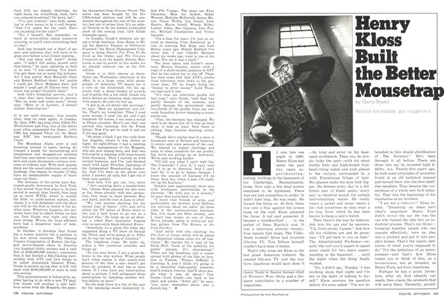 Article Preview: Henry Kloss Built the Better Mousetrap, September 1976 | Esquire