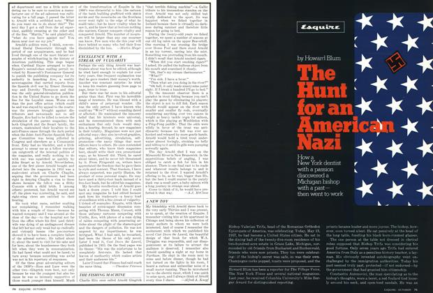 Article Preview: The Hunt for An American Nazi, October 1976 | Esquire