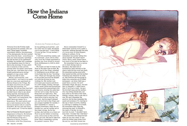 Article Preview: How the Indians Come Home, October 1976 | Esquire