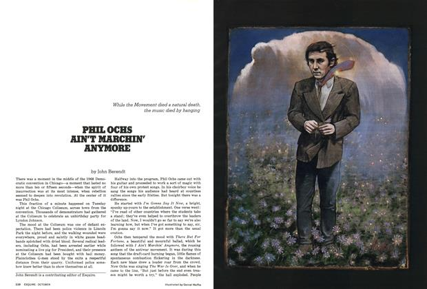 Article Preview: Phil Ochs Ain't Marchin' Anymore, October 1976 | Esquire