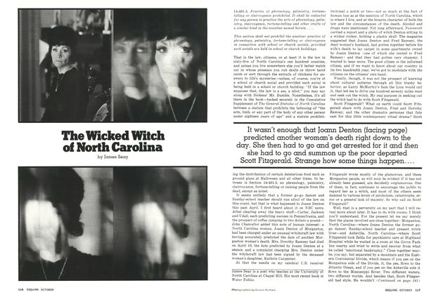 Article Preview: The Wicked Witch of North Carolina, October 1976 | Esquire