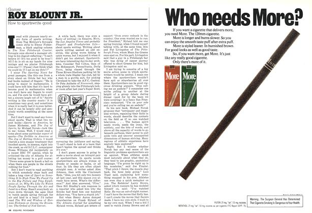 Article Preview: How to Sportswrite Good, NOVEMBER 1976 1976 | Esquire