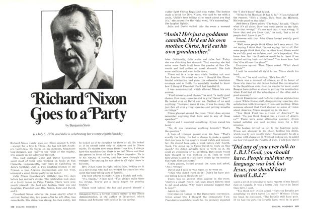 Article Preview: Richard Nixon Goes to a Party, November 1976 | Esquire