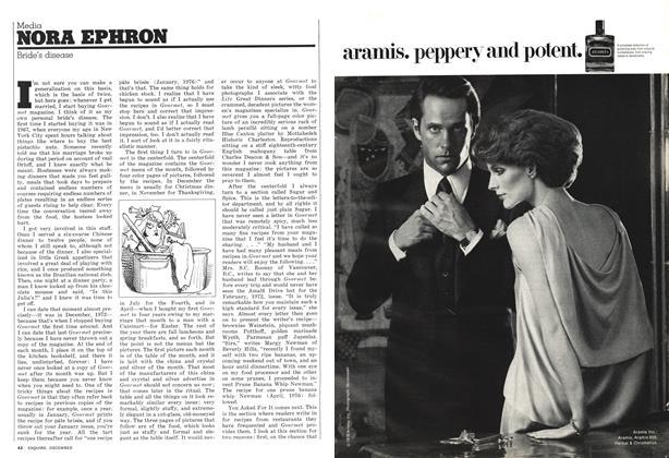 Article Preview: Bride's disease, DECEMBER 1976 1976 | Esquire
