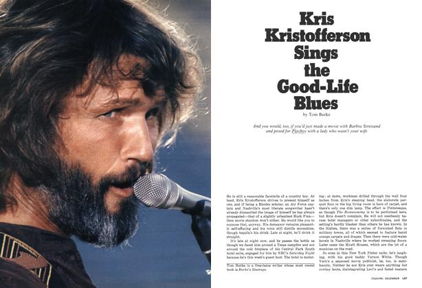 Article Preview: Kris Kristofferson Sings the Good-Life Blues, DECEMBER 1976 1976   Esquire