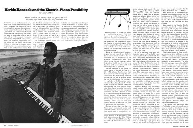 Herbie Hancock and the Electric-Piano Possibility