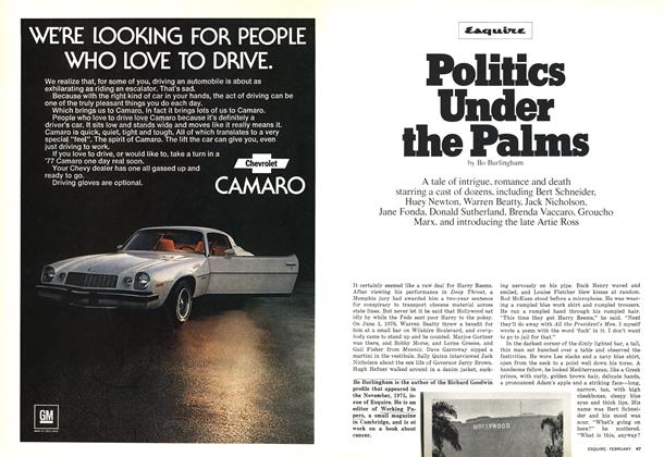 Article Preview: Politics Under the Palms, FEBRUARY 1977 1977 | Esquire