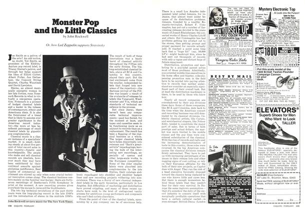 Monster Pop and the Little Classics