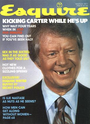 Cover for the March 1977 issue