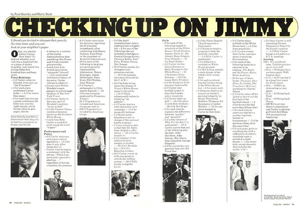 Article Preview: Checking Up on Jimmy, MARCH 1977 1977 | Esquire
