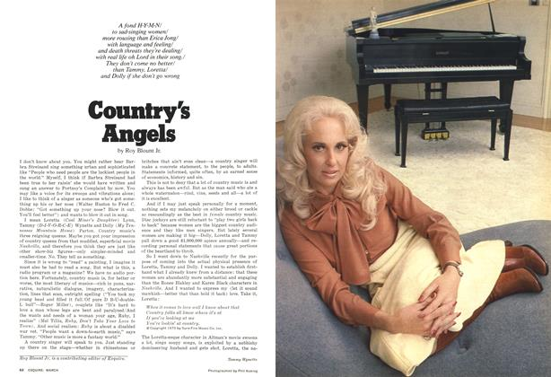 Article Preview: Country's Angels, MARCH 1977 1977 | Esquire