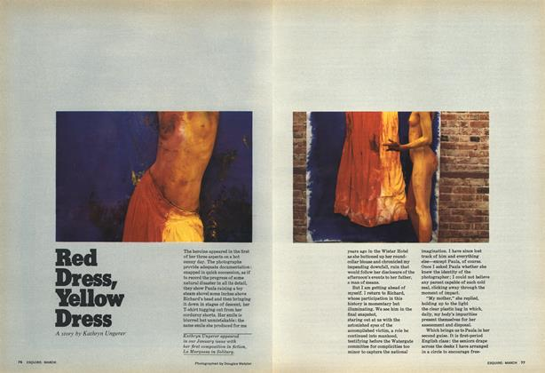 Article Preview: Red Dress, Yellow Dress, MARCH 1977 1977 | Esquire