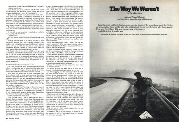 Article Preview: The Way We Weren't, March 1977 | Esquire