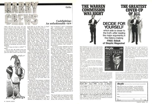 Article Preview: Cockfighting, March 1977 | Esquire