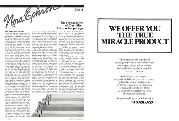 Article Preview: The Revitalization of Clay Filter: Yet Another Passage, APRIL 1977 1977 | Esquire