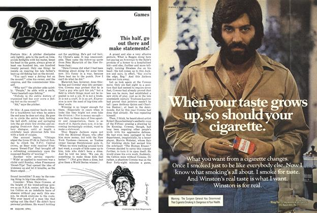 Article Preview: This Half, Go Out There and Make Statements!, April 1977   Esquire