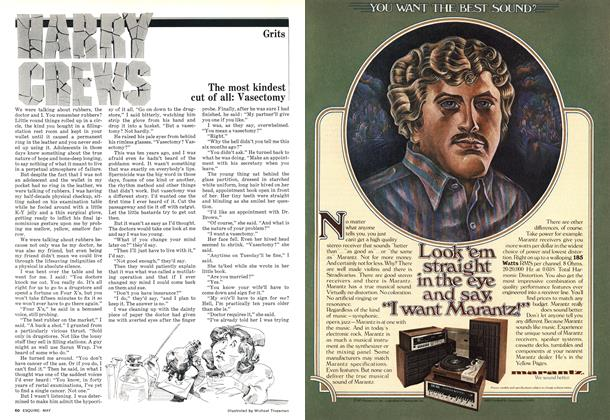 Article Preview: The Most Kindest Cut of All: Vasectomy, May 1977 | Esquire