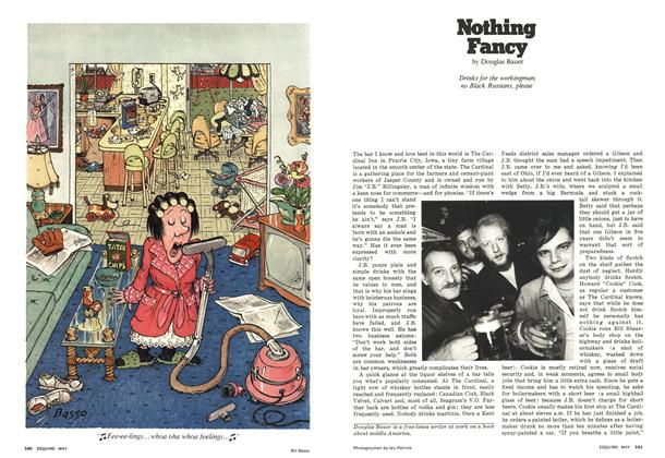 Article Preview: Nothing Fancy, May 1977 | Esquire