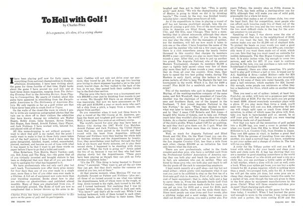 Article Preview: To Hell with Golf!, May 1977 | Esquire