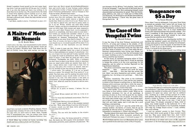 Article Preview: The Case of the Vengeful Twins, June 1977 | Esquire