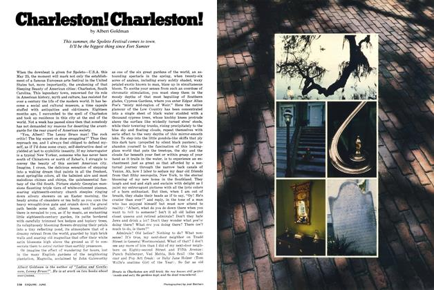 Article Preview: Charleston! Charleston!, June 1977 | Esquire